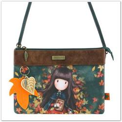 Santoro Gorjuss Autumn Leaves 2 zsebes crossbody táska